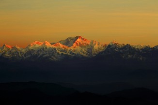 Kanchenjunga - The first light