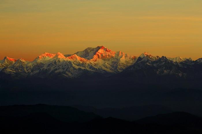 Kanchenjunga - The first light